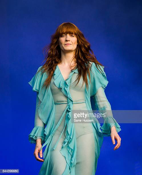 Florence Welch of Florence and the Machine performs as part of British Summer Time Festival at Hyde Park on July 2, 2016 in London, England.