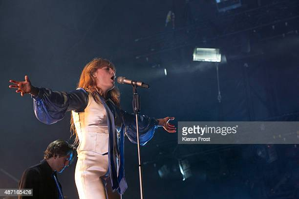 Florence Welch of Florence and the Machine performs at Electric Picnic on September 6 2015 in Stradbally Ireland
