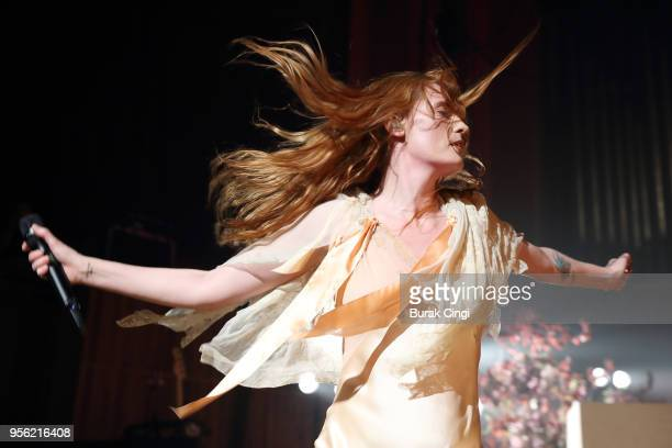 Florence Welch of Florence and the Machine performs at The Royal Festival Hall on May 8 2018 in London England