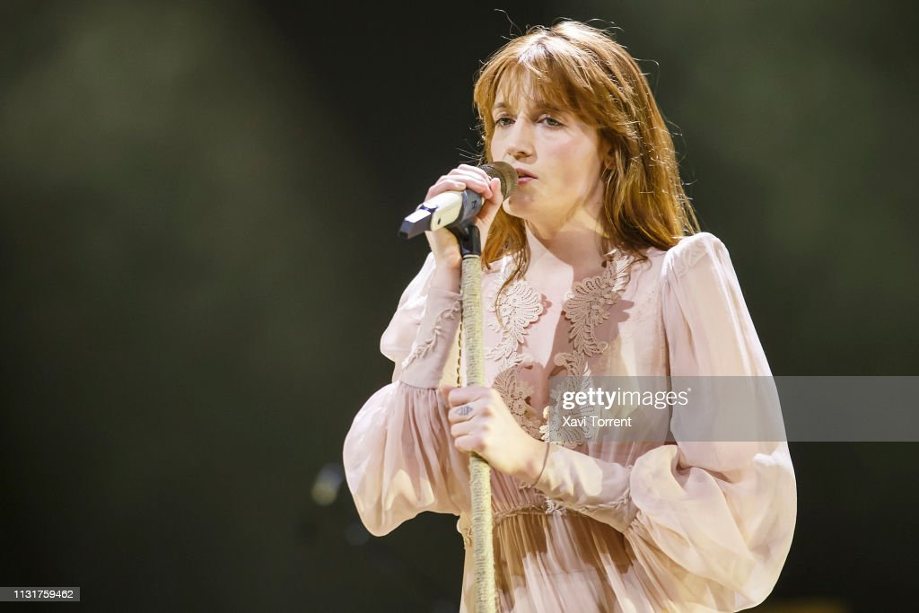 Florence And The Machine Perform In Concert In Barcelona : News Photo