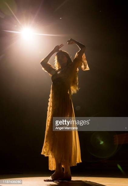 Florence Welch of Florence and the Machine performs in concert at WiZink center on March 21 2019 in Madrid Spain