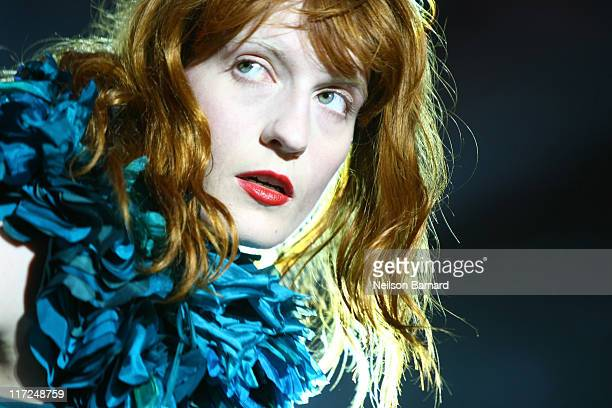 Florence Welch of Florence and The Machine performs on stage at Central Park SummerStage on June 24 2011 in New York City