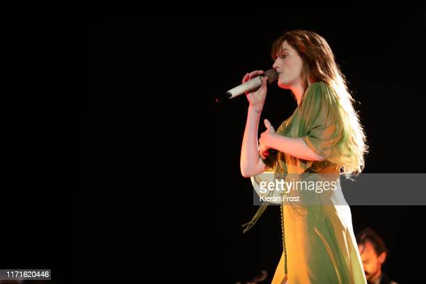 Florence Welch of Florence and the Machine performs on stage during Electric Picnic Music Festival 2019 at on September 1, 2019 in Stradbally,...