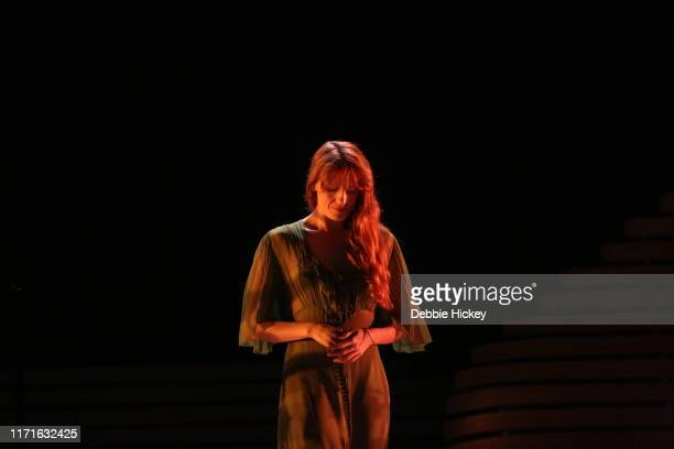 Florence Welch of FLorence and the Machine performs on stage during Electric Picnic Music Festival 2019 at Stradbally Hall Estate on September 1,...