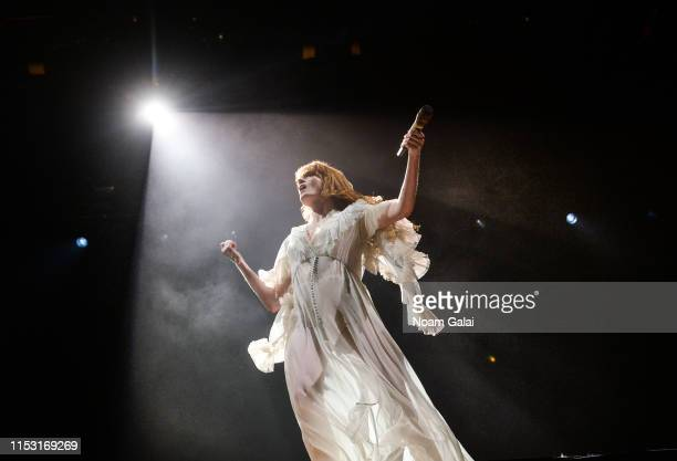 Florence Welch of Florence the Machine performs at the 2019 Governors Ball Festival at Randall's Island on June 01 2019 in New York City