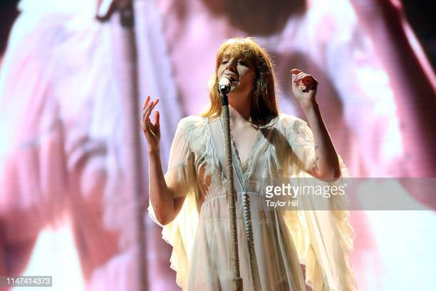 Florence Welch of Florence the Machine performs during the 2019 Governors Ball Music Festival at Randall's Island on June 1 2019 in New York City