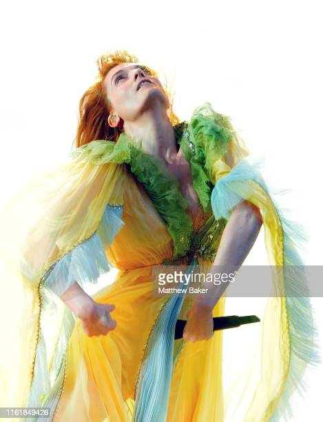 Florence Welch of Florence the Machine performs on Day 5 of Barclaycard Presents British Summer Time Hyde Park at Hyde Park on July 13 2019 in London...