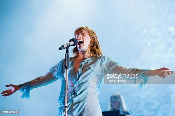 Florence Welch of Florence The Machine performs on May 22 2016 in Gulf Shores Alabama