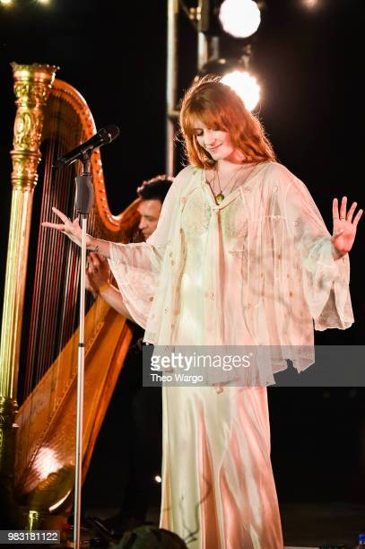 Florence Welch of Florence The Machine performs onstage during a Spotify Premium intimate event on June 24 2018 in Brooklyn New York