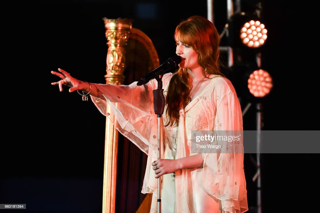 Spotify Premium Hosts an Intimate Event with Florence +The Machine