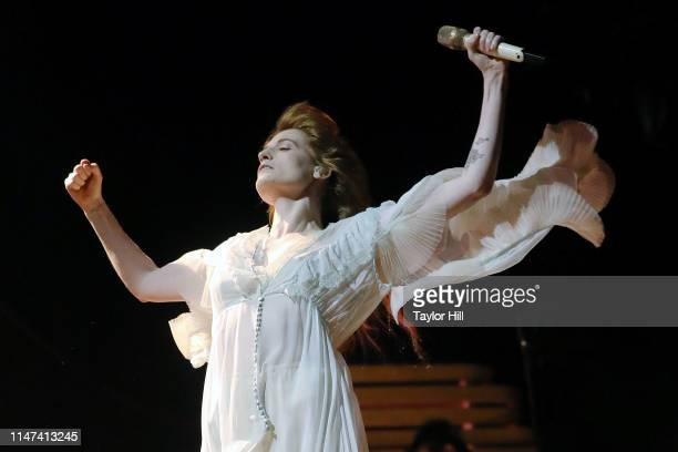 Florence Welch of Florence+the Machine performs during the 2019 Governors Ball Music Festival at Randall's Island on June 1, 2019 in New York City.