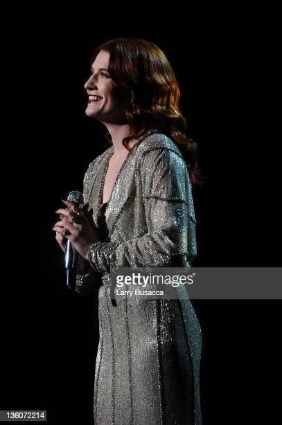 Florence Welch performs onstage during VH1 Divas Celebrates Soul at Hammerstein Ballroom on December 18 2011 in New York City
