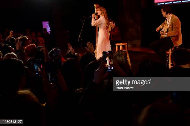 Florence Welch performs with Florence + the Machine during the 2019 New Yorker Festival on October 11, 2019 in New York City.
