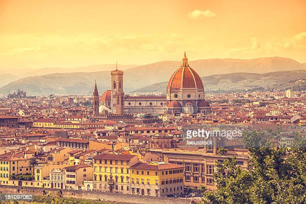 Florence with Duomo, Italy
