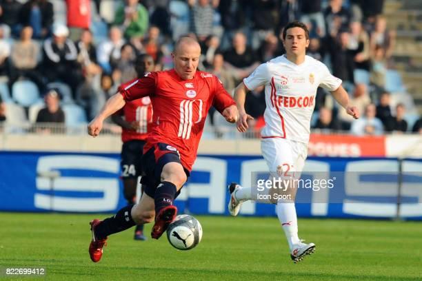 Florent BALMONT Lille / Monaco 33eme journee de Ligue 1 Stadium Nord Villeneuve d'Ascq