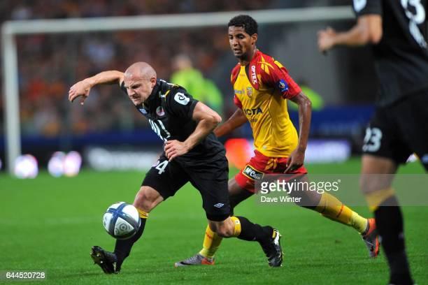 Florent BALMONT / Issam JEMAA Lens / Lille 5eme journee de Ligue 1 Photo Dave Winter / Icon Sport