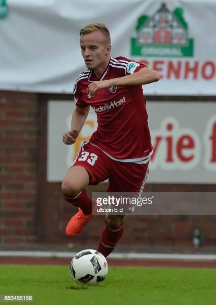 Florent Hadergjonaj in Aktion waehrend dem Testspiel fuer die Fussball Bundesliga Saison 2016/2017 FC Ingolstadt 04 gegen SV Werder Bremen am 13...