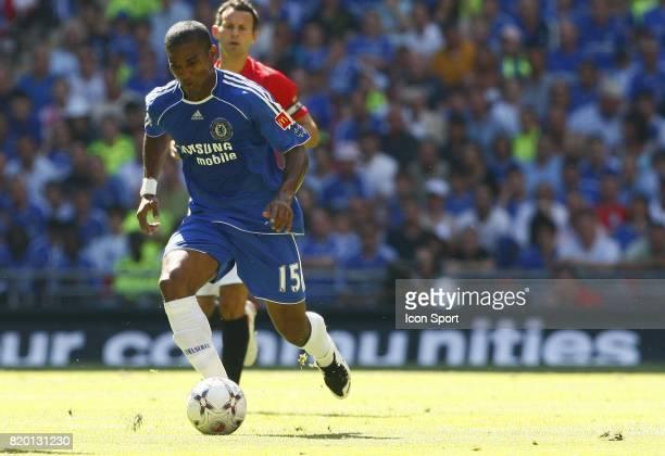 Florent MALOUDA Manchester United / Chelsea Community Shield Wembley Londres