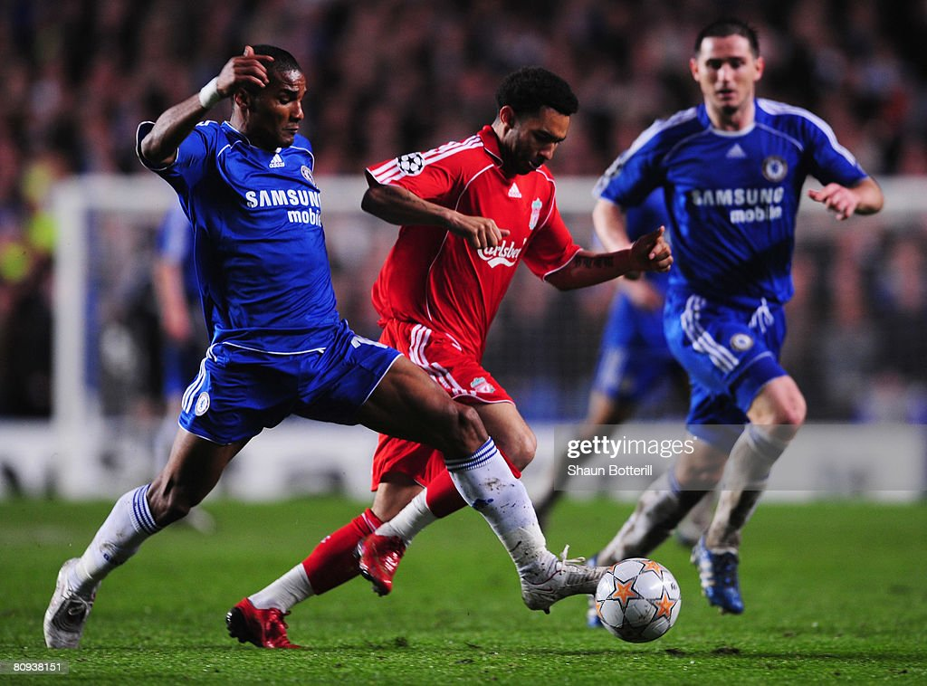 Chelsea v Liverpool - UEFA Champions League Semi Final : News Photo