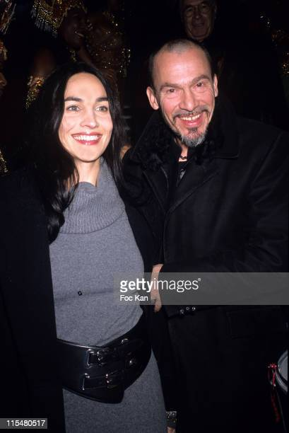 Florent Pagny and Wife Azucena during 2nd International Latin Film Festival - December 12, 2006 at Cinema Publicis Champs Elysees in Paris, France.