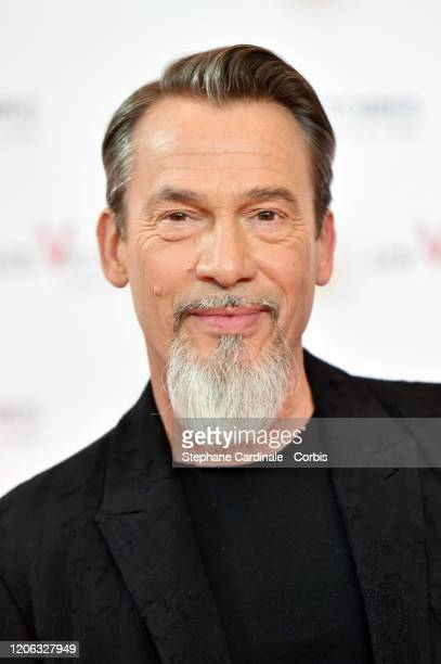 Florent Pagny attends the 35th 'Les Victoires De La Musique' photocall At La Seine Musicale on February 14, 2020 in Boulogne-Billancourt, France.