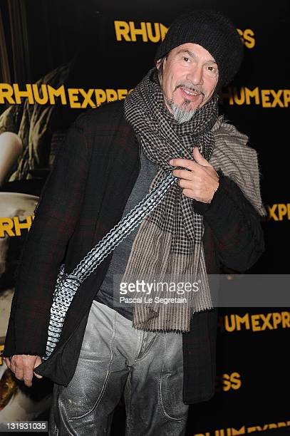 Florent Pagny attends the 'Rhum Express' Paris Premiere at Cinema Gaumont Marignan on November 8, 2011 in Paris, France.