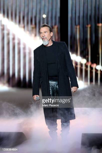Florent Pagny performs during the 35th 'Les Victoires De La Musique' Show At La Seine Musicale on February 14, 2020 in Boulogne-Billancourt, France.
