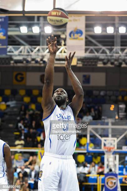 FLorent Pietrus of Levallois during the Pro A match between Levallois and Limoges on October 7 2017 in LevalloisPerret France