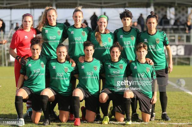 Florentia San Gimignano Women poses during the Women Serie A match between Florentia and AC Milan on November 30 2019 in Florence Italy