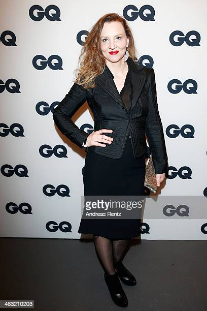 Florentine Joop attends the GQ Fashion Cocktail at The Grand on January 16, 2014 in Berlin, Germany.