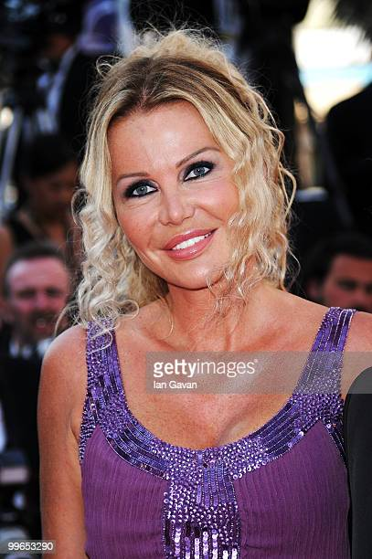 Florentine Leconte as they attend Biutiful Premiere at the Palais des Festivals during the 63rd Annual Cannes Film Festival on May 17 2010 in Cannes...