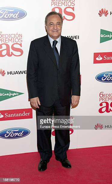 Florentino Perez attends As Del Deporte' Awards 2012 on December 10 2012 in Madrid Spain