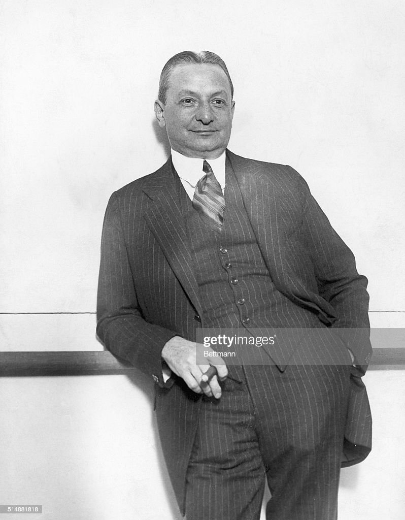 Theatrical Producer Florenz Ziegfeld : News Photo