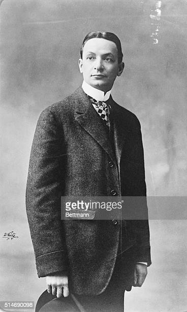 Florenz Ziegfeld during the early days of his career Undated Photograph