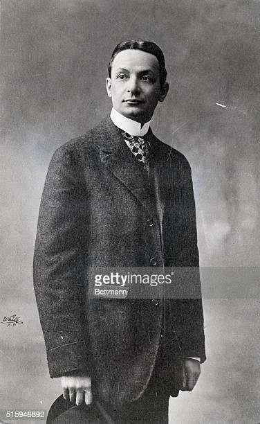 Florenz Ziegfeld Undated Standing waist up