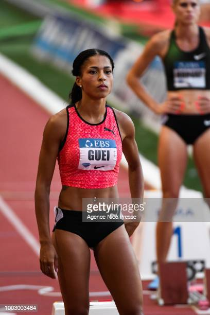 Floria Guei of France 400m during the IAAF Diamond League Meeting Herculis on July 20, 2018 in Monaco, Monaco.