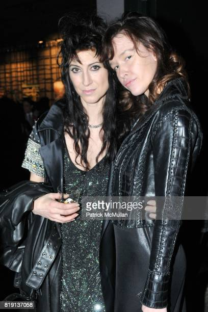 Floria Sigismondi and Paz de la Huerta attend THE RUNAWAYS A Gallery Event with FLORIA SIGISMONDI to Benefit STAND UP FOR KIDS at Good Units on March...