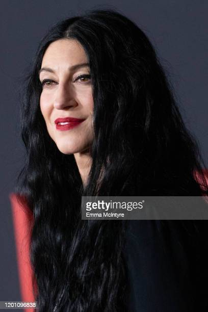 Floria Sigismondi arrives at the premiere of Universal Pictures' The Turning at TCL Chinese Theatre on January 21 2020 in Hollywood California
