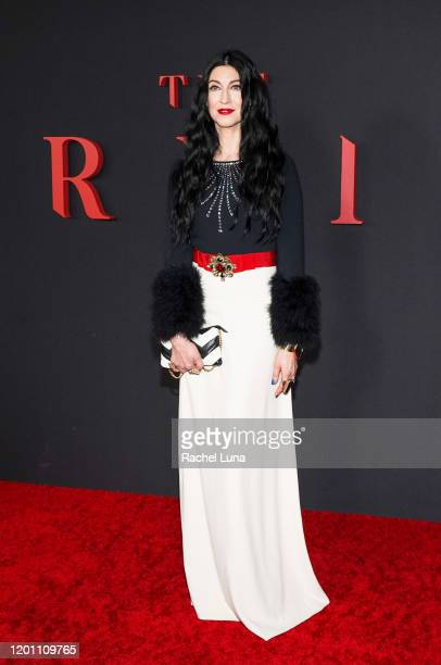 Floria Sigismondi attends the premiere of Universal Pictures' The Turning at TCL Chinese Theatre on January 21 2020 in Hollywood California