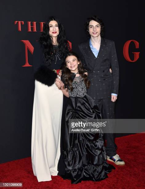 Floria Sigismondi Brooklynn Prince and Finn Wolfhard attend the Premiere of Universal Pictures' The Turning at TCL Chinese Theatre on January 21 2020...