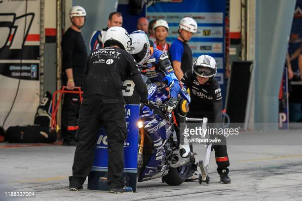 Florian Alt of VRD Igol Pierret Experiences in action during qualifying session of the FIM EWC - The Sepang 8 hours Endurance Race on December 12...