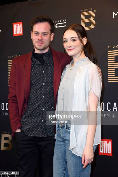 Florian Bartholomaei and Maria Ehrich attend the PLACE TO B PreBerlinale Dinner at Provocateur on February 7 2017 in Berlin Germany