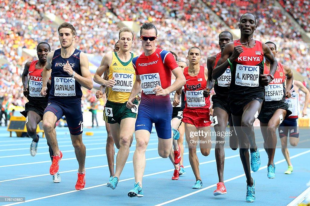 14th IAAF World Athletics Championships Moscow 2013 - Day Nine : News Photo