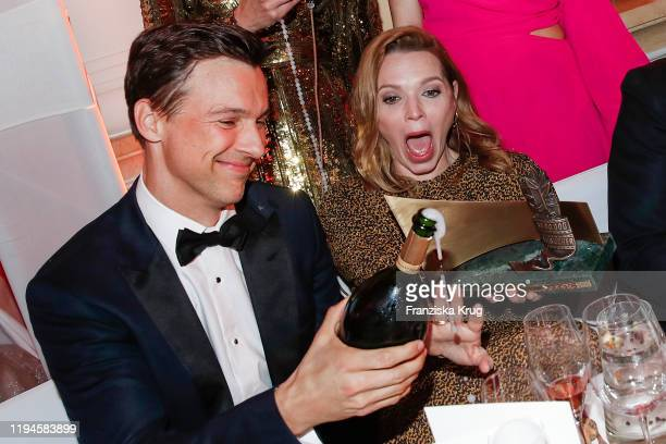 Florian David Fitz and Karoline Herfurth during the 47th German Film Ball at Hotel Bayerischer Hof on January 18 2020 in Munich Germany