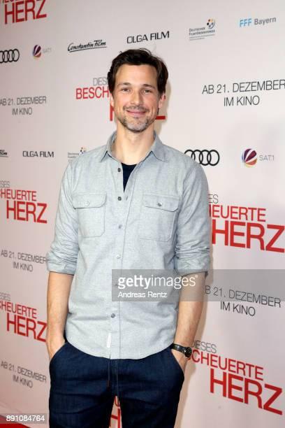 Florian David Fitz attends the 'Dieses bescheuerte Herz' premiere on December 12 2017 in Berlin Germany