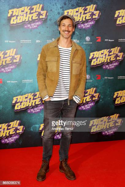 Florian David Fitz attends the 'Fack ju Goehte 3' premiere at Mathaeser Filmpalast on October 22 2017 in Munich Germany