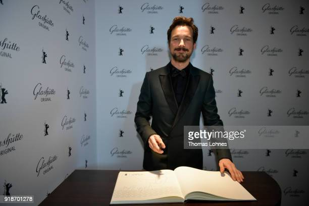 Florian David Fitz attends the Glashuette Original Lounge at The 68th Berlinale International Film Festival at Grand Hyatt Hotel on February 15 2018...