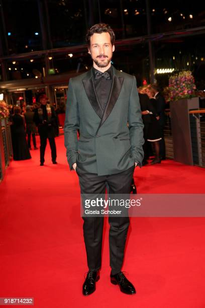 Florian David Fitz attends the Opening Ceremony 'Isle of Dogs' premiere during the 68th Berlinale International Film Festival Berlin at Berlinale...