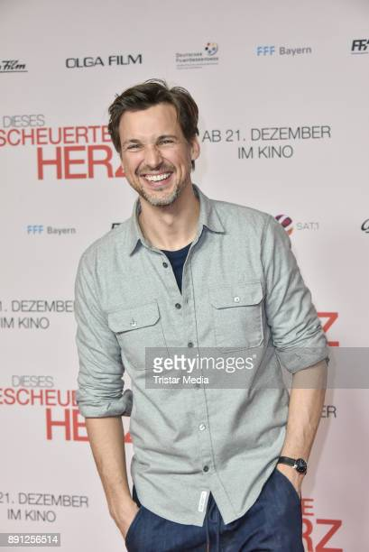 Florian David Fitz during the 'Dieses bescheuerte Herz' premiere on December 12 2017 in Berlin Germany