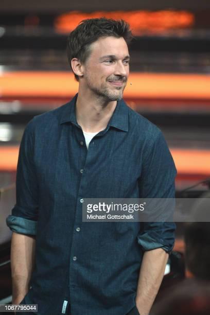 Florian David Fitz is seen on stage during the tv show '2018 Menschen Bilder Emotionen' on December 3 2017 in Cologne Germany